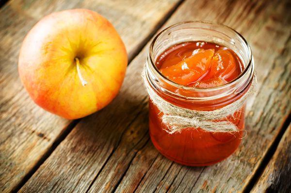 яблоко и варенье