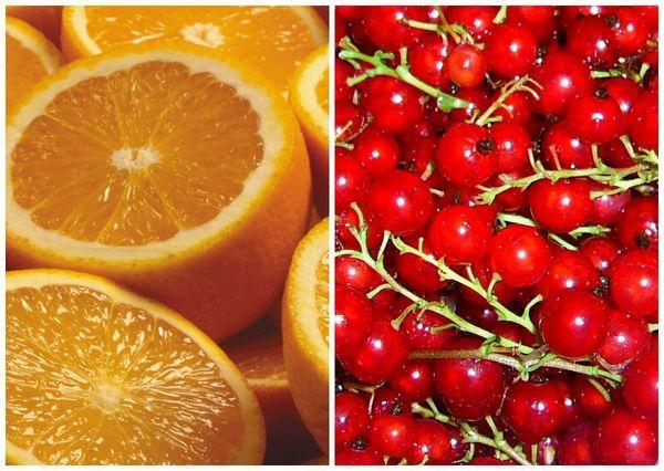 смородина и апельсины