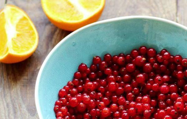 ягоды и цитрус