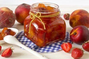 ТОП 11 рецептов приготовления варенья из персиков и нектаринов на зиму