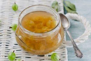 ТОП 4 рецепта приготовления варенья и джема из крыжовника без сахара на зиму