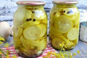 ТОП 3 рецепта приготовления маринованных кабачков с лимонной кислотой на зиму
