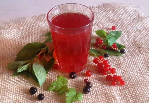 мятно-смородиновый напиток