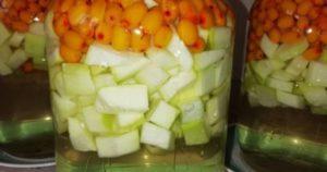 3 лучших рецепта приготовления компота из облепихи и кабачков на зиму