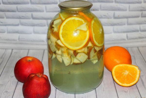 ассорти с апельсином