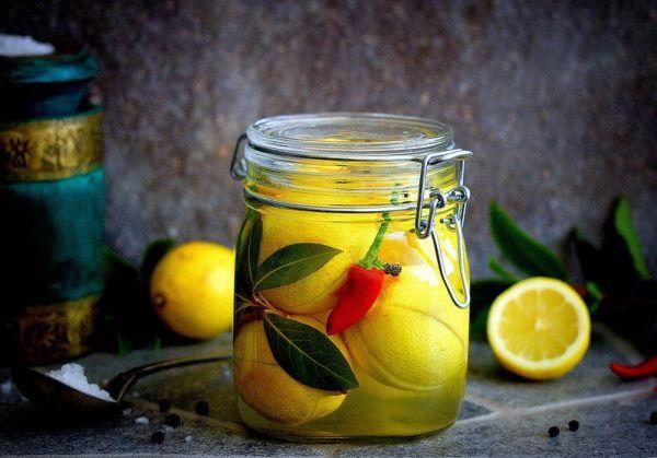 Соленья из лимона