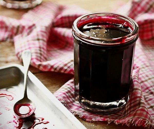 Соус-сироп из смородины