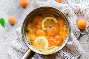 ТОП 4 рецепта приготовления варенья из абрикосов с лимоном