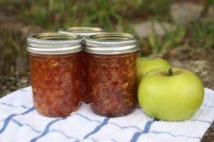 Простой пошаговый рецепт приготовления варенья из кислых яблок на зиму