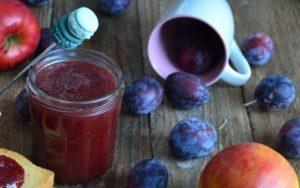 6 лучших рецептов приготовления яблочно-сливового повидла на зиму
