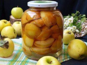 10 лучших рецептов приготовления яблок в сиропе на зиму