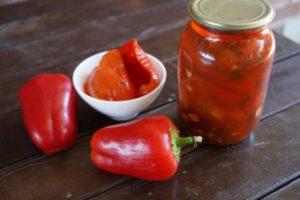 10 лучших рецептов приготовления на зиму перца, маринованного в томатном соусе