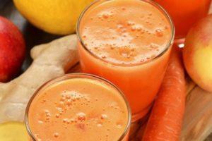 ТОП 3 рецепта приготовления яблочно-морковного сока на зиму в домашних условиях