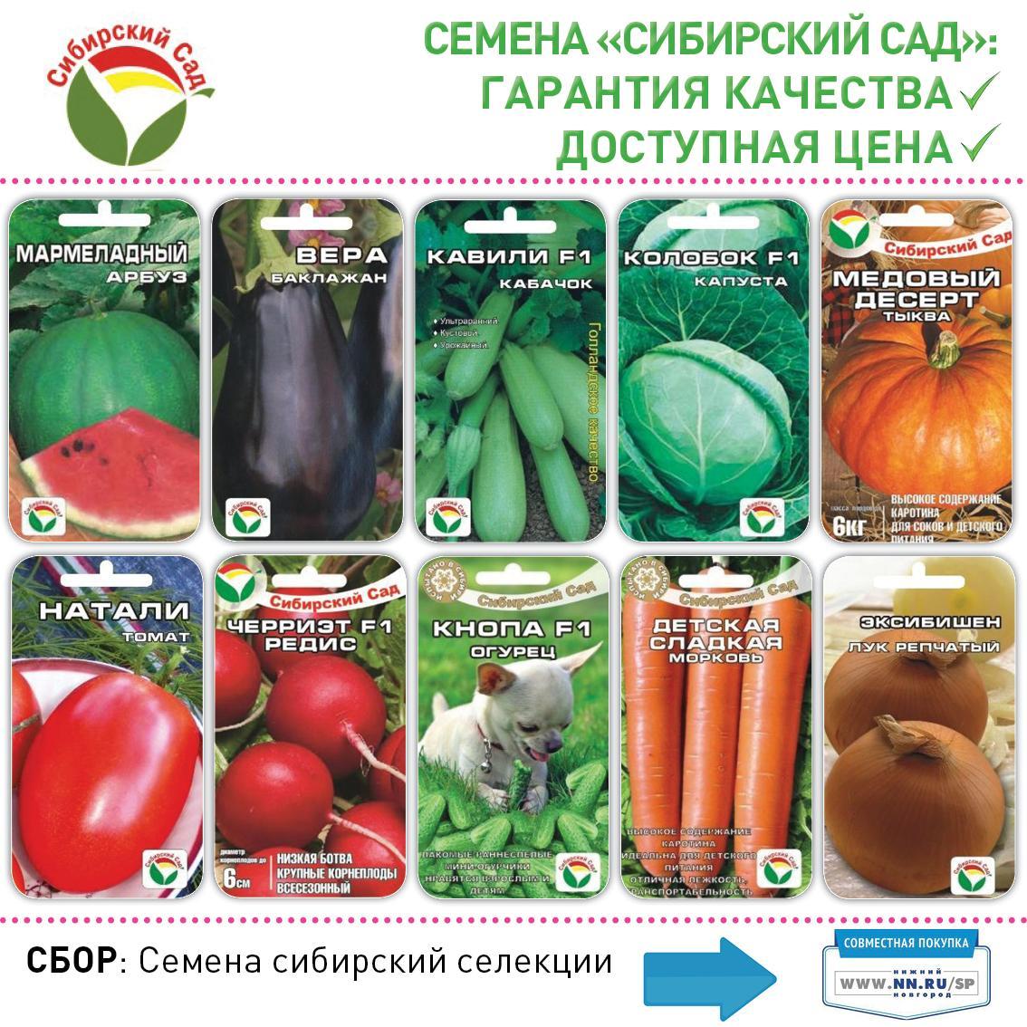 Сибирская Селекция Семена Официальный Сайт Интернет Магазин