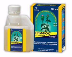 Состав гербицида Глифос и инструкция по применению от сорняков
