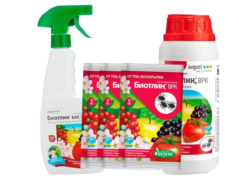 • необходимость строгого соблюдения правил обработки, исключения проникновения средства в почву и применения в период цветения.