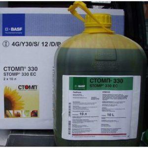 Состав и формы выпуска гербицида Стомп, инструкция по применению и аналоги