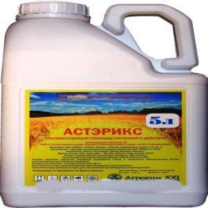 Состав и инструкция по применению гербицида Астерикс, нормы расхода