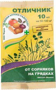 Состав и инструкция по применению гербицида Отличник, нормы расхода средства