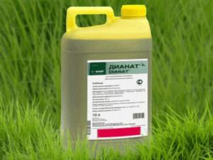Состав и инструкция по применению гербицида Дианат, нормы расхода и аналоги