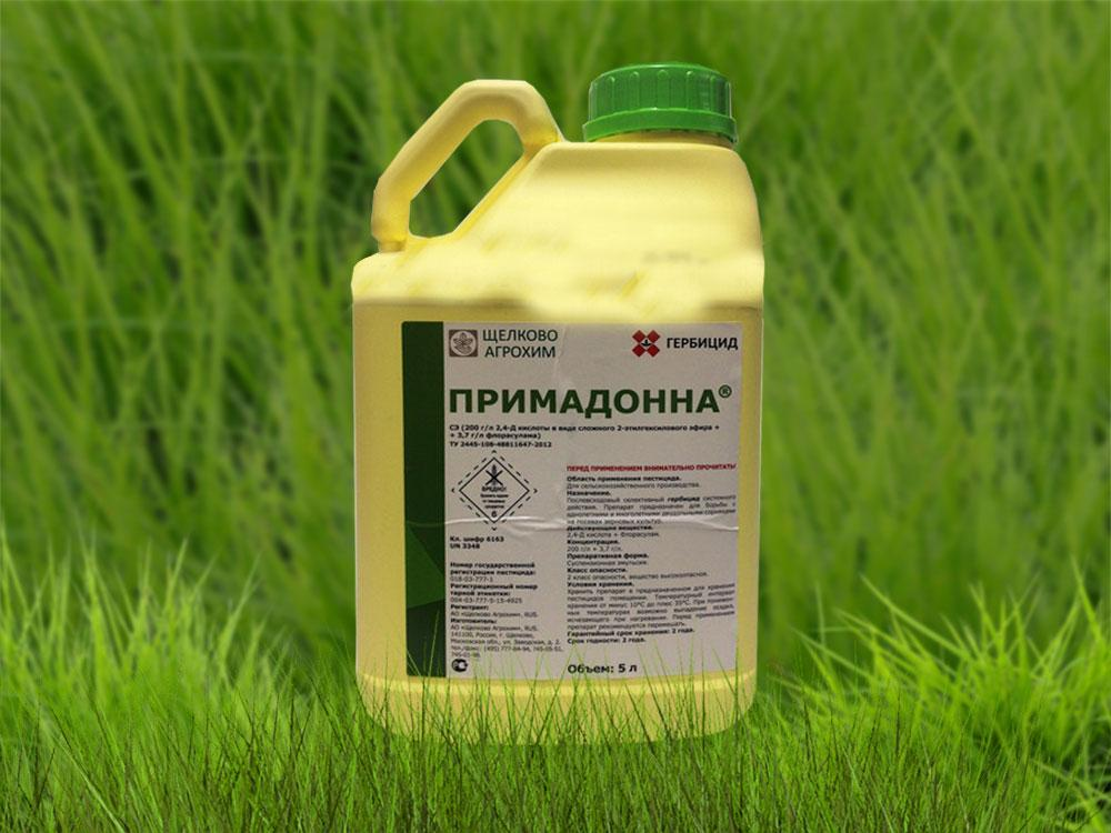 примадонна гербицид