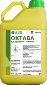 Инструкция по применению и состав гербицида Октава, дозировка и аналоги