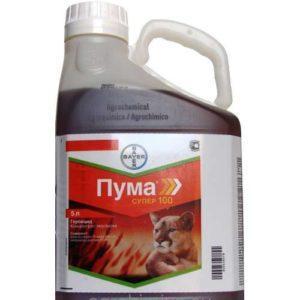 Инструкция по применению и состав гербицида Пума Супер 100, нормы расхода