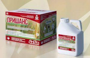 Инструкция по применению и состав гербицида Пришанс, дозировка и аналоги