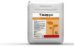 Инструкция по применению и состав гербицида Тайфун, дозировка и аналоги
