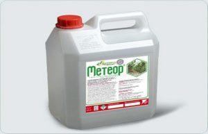 Инструкция по применению и состав гербицида Метеор, дозировка и аналоги