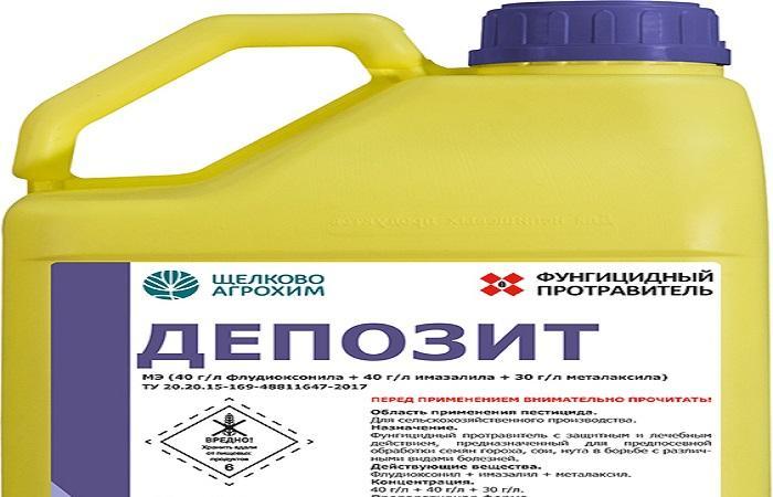 депозит в бутылке