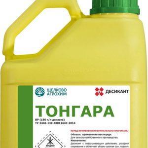 Инструкция по применению десиканта Тонгара и состав гербицида, дозировка