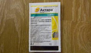 Инструкция по применению инсектицида Актара, от каких вредителей помогает