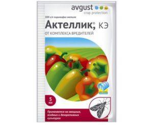 Состав и инструкция по применению Актеллика, дозировка инсектицида