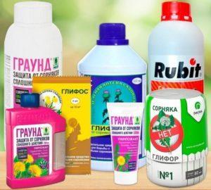 Разновидности гербицидов от сорняков и какие лучше применять, примеры